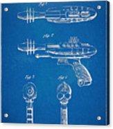 Pyrotomic Disintegrator Pistol Patent Acrylic Print