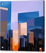 Q-city One Acrylic Print