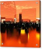 Q-city Zero Acrylic Print