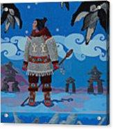 Qikiqtaaluk Whale Dreamer Acrylic Print