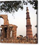 Qtub Minar, New Delhi India Acrylic Print