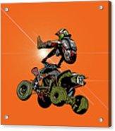 Quad Rider Series Acrylic Print
