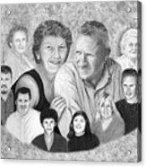 Quade Family Portrait  Acrylic Print