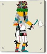 Quail Dancer Kachina Acrylic Print