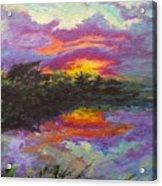 Quail Lake Acrylic Print