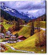 Quaint Bavarian Village Acrylic Print
