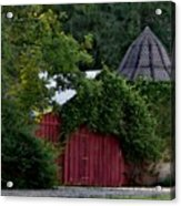 Quaint Red Barn  Acrylic Print