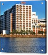 Quaker Oats First Building Acrylic Print