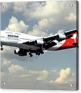Quantas Boeing 747 Acrylic Print