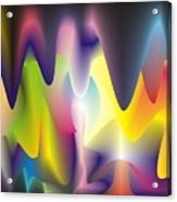 Quantum Landscape 6 Acrylic Print