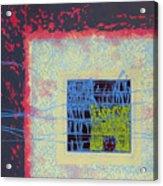 Quardangulars1 Monoprint Acrylic Print
