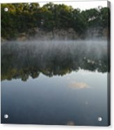 Quarry Reflections Acrylic Print