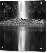 Quarry Waterfall Acrylic Print