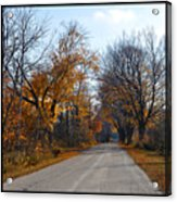 Quarterline Road Acrylic Print