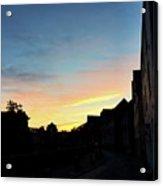 Quayside Sunrise 4 Acrylic Print