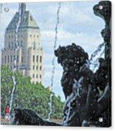 Quebec City Detail 40 Acrylic Print