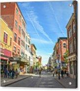 Rue St. Jean Acrylic Print
