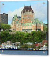 Quebec City Waterfront 6324 Acrylic Print