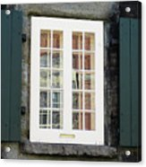 Quebec City Windows 47 Acrylic Print
