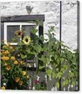 Quebec Floral Acrylic Print