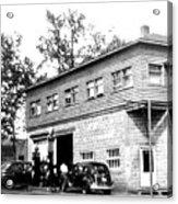 Quebec Garage 1940s Acrylic Print