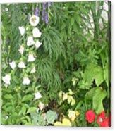 Quebec Garden 2 Acrylic Print