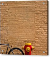 Quebec Hydrant Acrylic Print