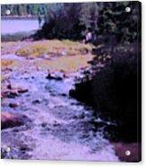 Quebec River Acrylic Print