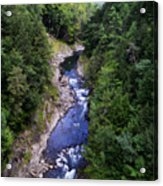 Quechee Gorge In Vermont Acrylic Print