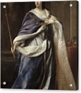 Queen Anne Acrylic Print by Edmund Lilly