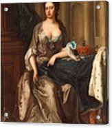 Queen Anne Og England Represented  Acrylic Print