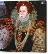Queen Elizabeth I, C1588 Acrylic Print