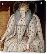 Queen Elizabeth I Of England And Ireland Acrylic Print
