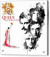 Queen Forever Remix II Acrylic Print
