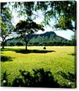 Queen Kapiolani Park Acrylic Print