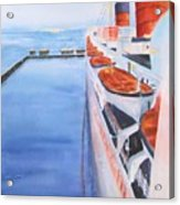 Queen Mary From The Bridge Acrylic Print
