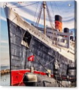 Queen Mary Ghost Ship Acrylic Print
