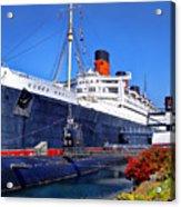 Queen Mary Ship Acrylic Print
