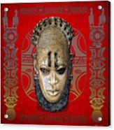 Queen Mother Idia  Acrylic Print
