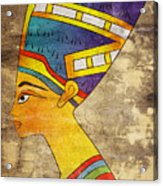 Queen Of Ancient Egypt Acrylic Print