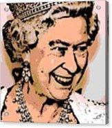 Queen Of Diamonds Acrylic Print