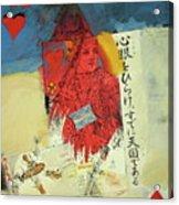 Queen Of Hearts 40-52 Acrylic Print