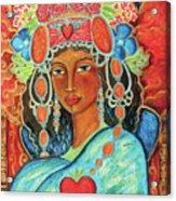 Queen of Her Own Heart Acrylic Print