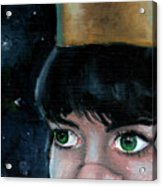 Queen Of Space Acrylic Print