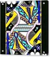 Queen Of Spades - V2 Acrylic Print