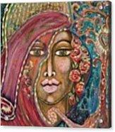Queen Of The Cosmos Acrylic Print