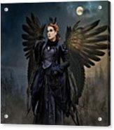 Queen Raven Acrylic Print
