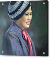 Queen Sirikit Acrylic Print