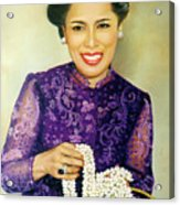 Queen Sirikit2 Acrylic Print
