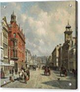 Queen Street, Aukland Acrylic Print